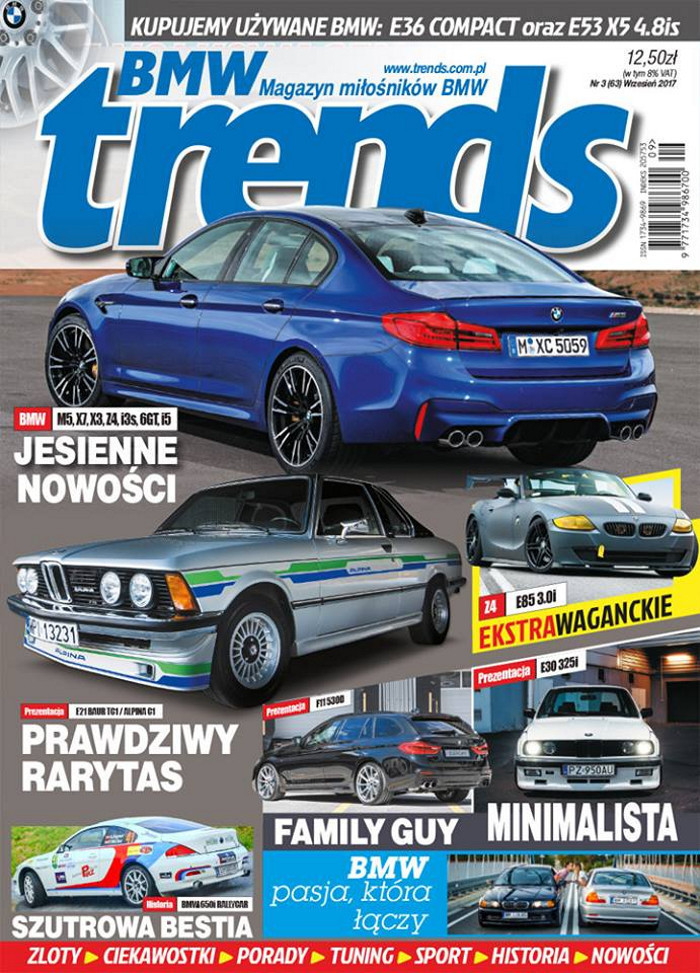 BMW TRENDS -                     3/2017