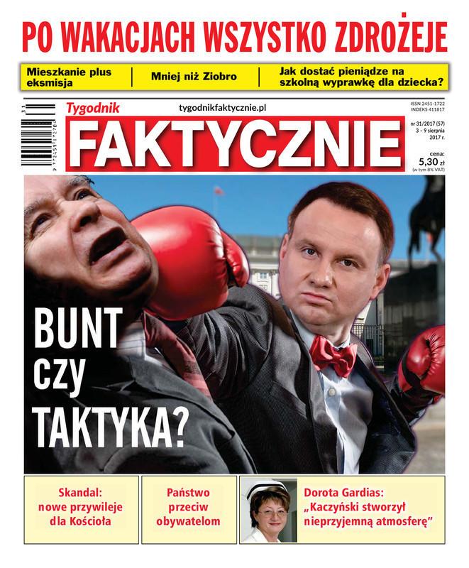 Tygodnik Faktycznie -                     31/2017