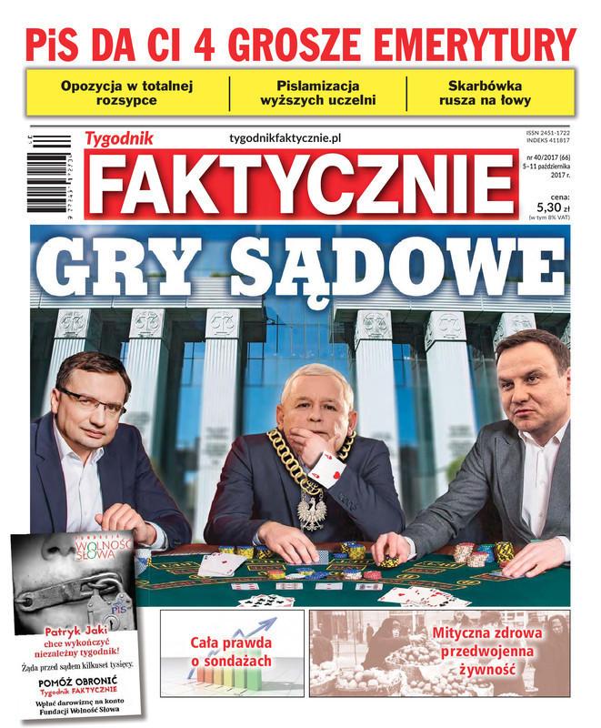 Tygodnik Faktycznie -                     40/2017