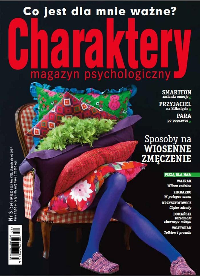 Charaktery -                     3/2013