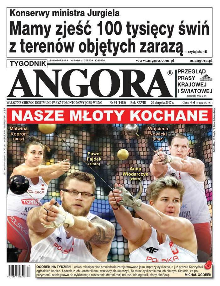 Tygodnik Angora -                     34/2017