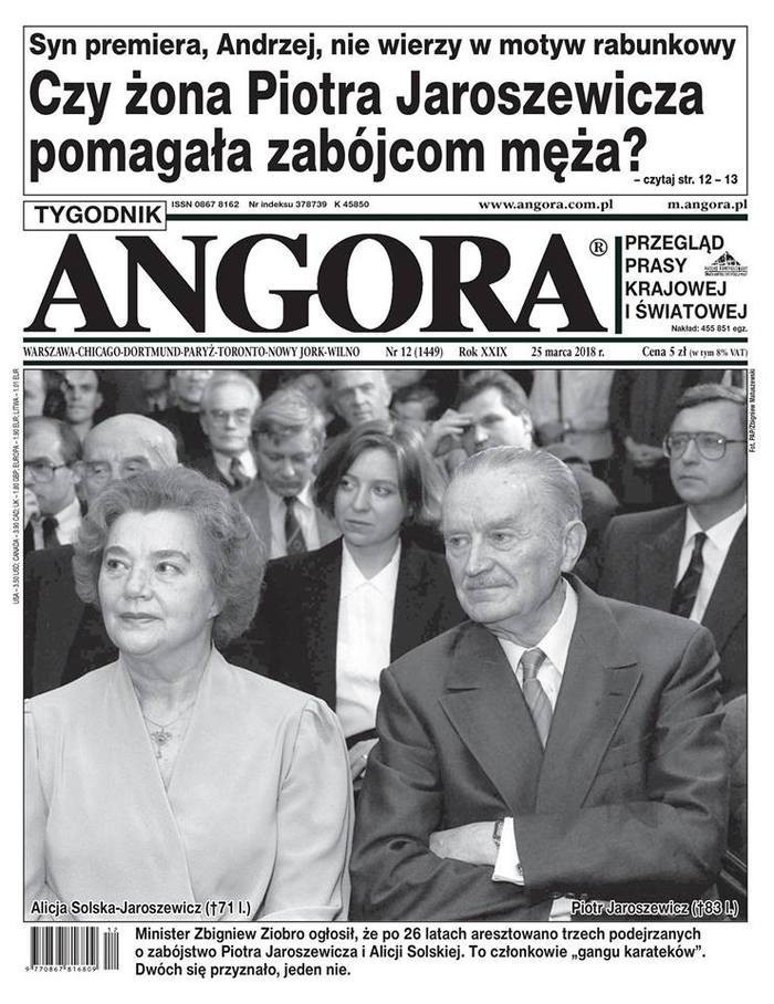 Tygodnik Angora -                     12/2018