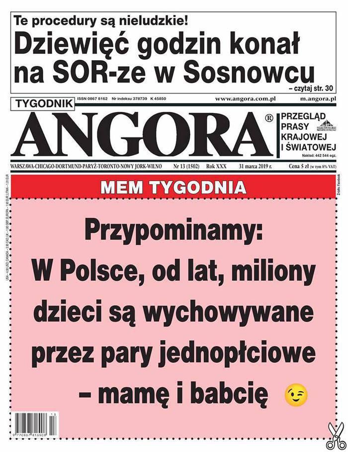 Tygodnik Angora -                     13/2019