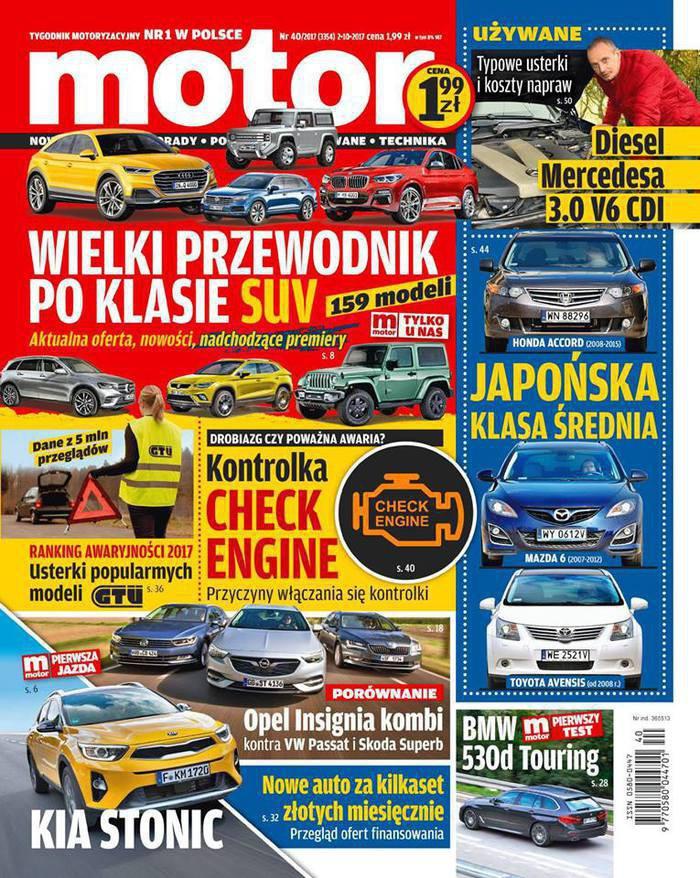 Motor -                     40/2017