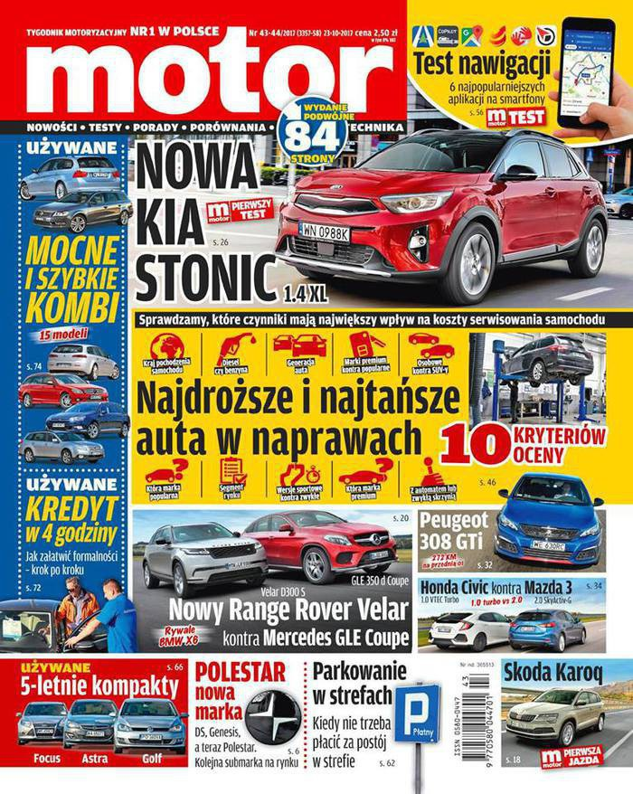 Motor -                     43-44/2017