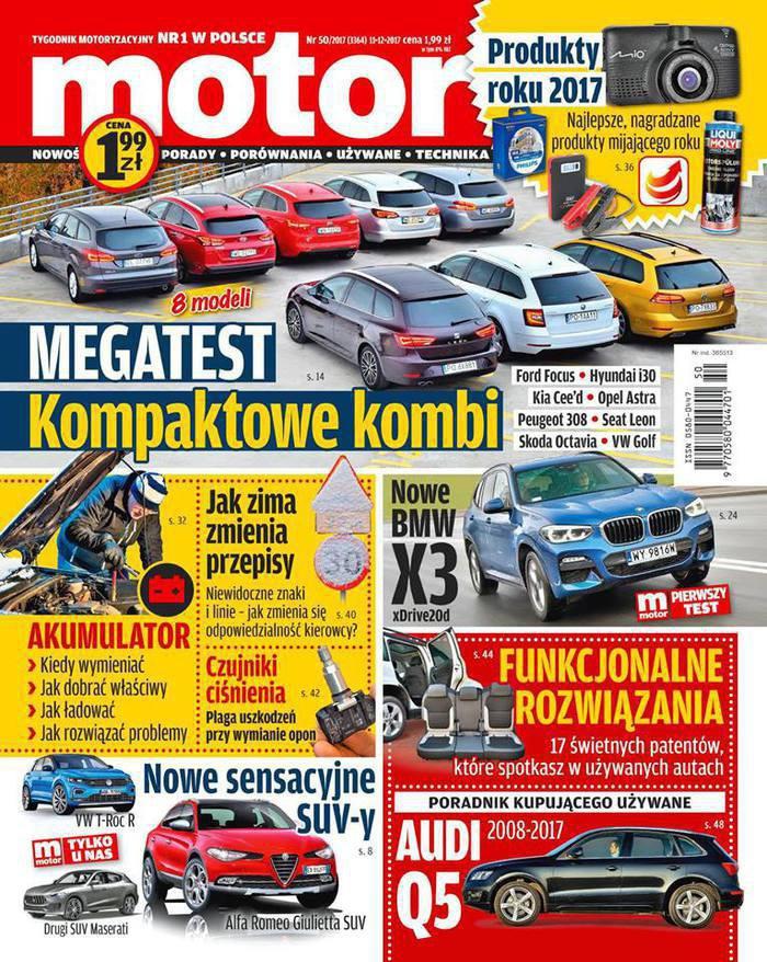 Motor -                     50/2017