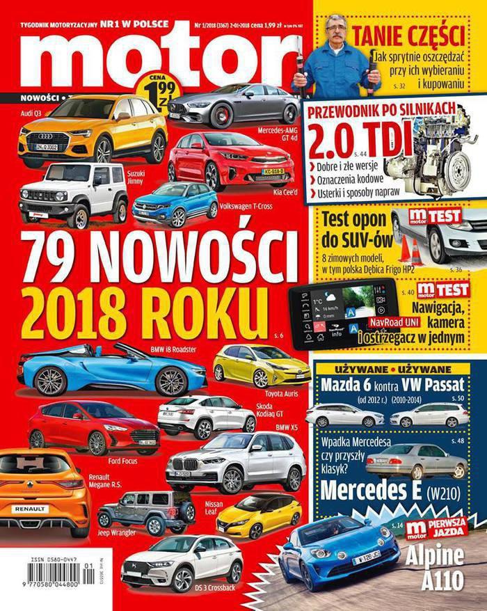 Motor -                     1/2018