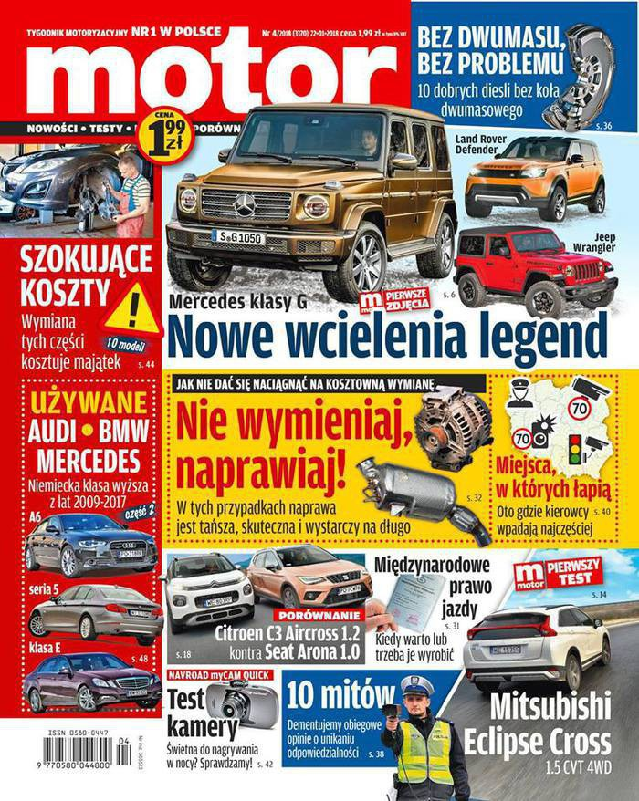 Motor -                     4/2018