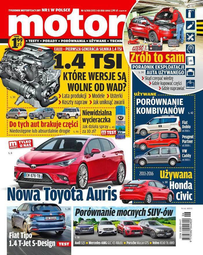 Motor -                     6/2018