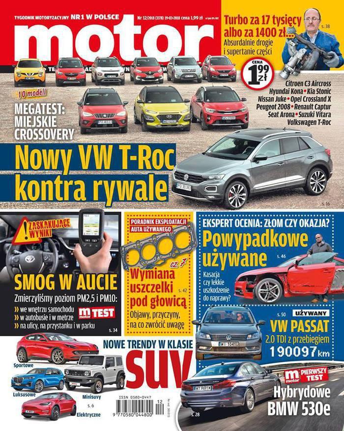 Motor -                     12/2018
