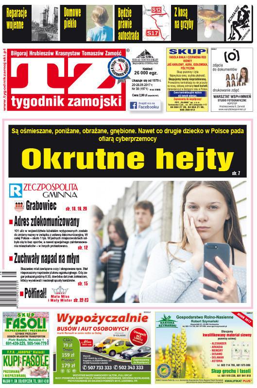 Tygodnik Zamojski -                     38/2017
