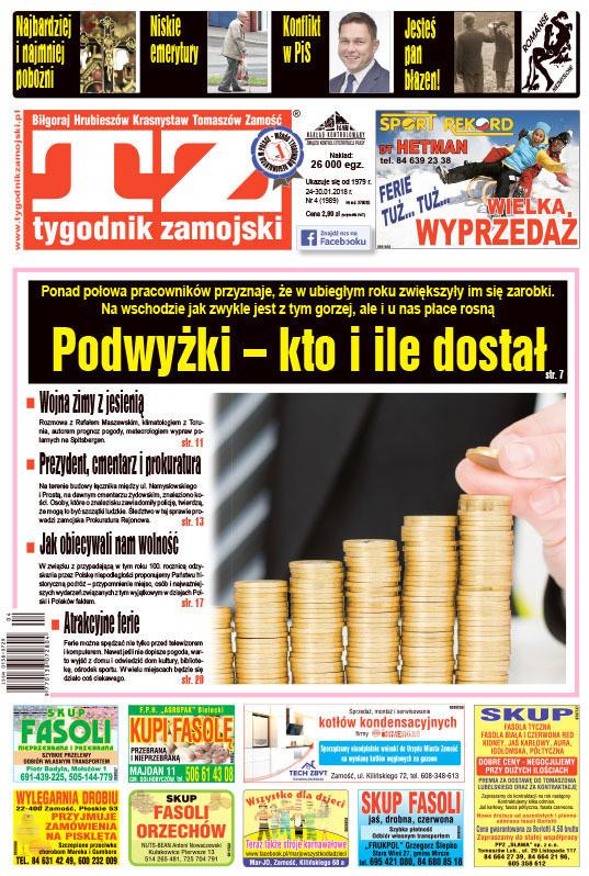 Tygodnik Zamojski -                     2018-01-26
