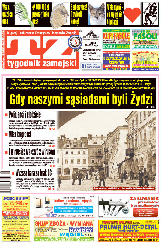 Tygodnik Zamojski -                     5/2018