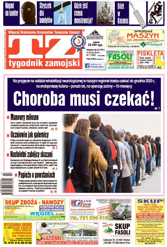 Tygodnik Zamojski -                     7/2018