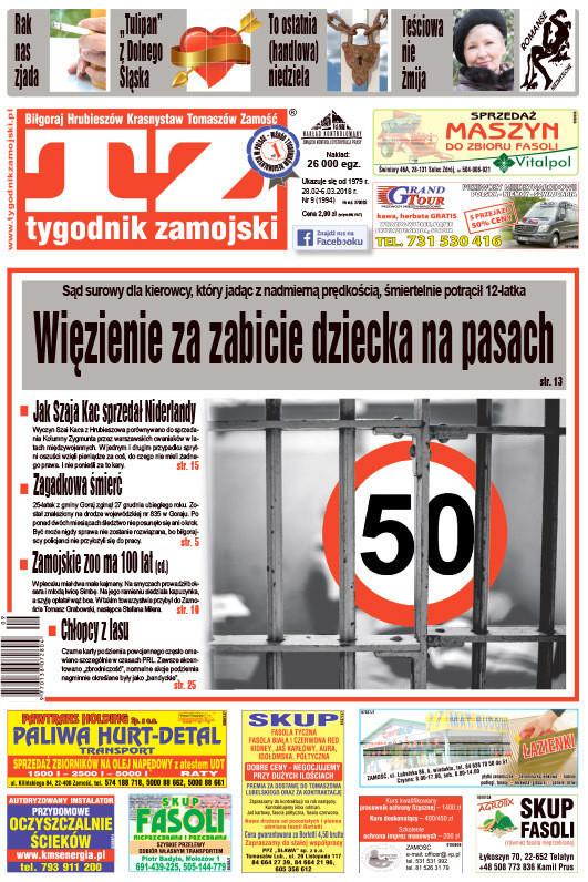 Tygodnik Zamojski -                     9/2018