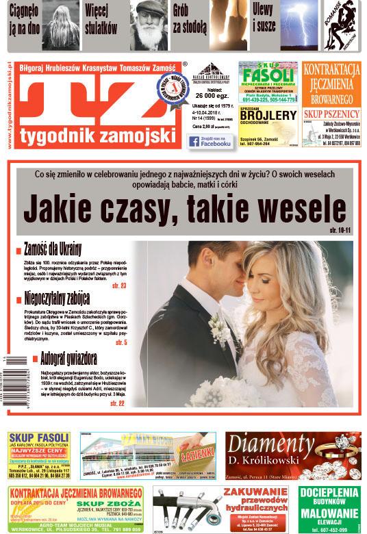 Tygodnik Zamojski -                     14/2018