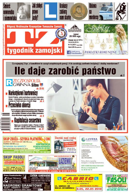 Tygodnik Zamojski -                     16/2018