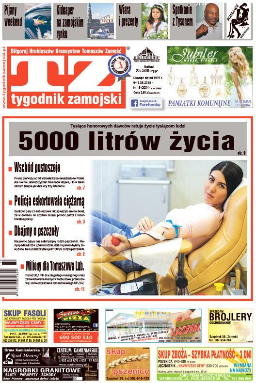 Tygodnik Zamojski -                     19/2018