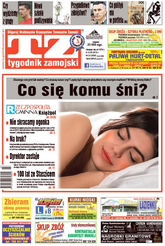 Tygodnik Zamojski -                     23/2018