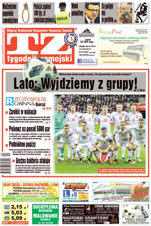 Tygodnik Zamojski -                     24/2018