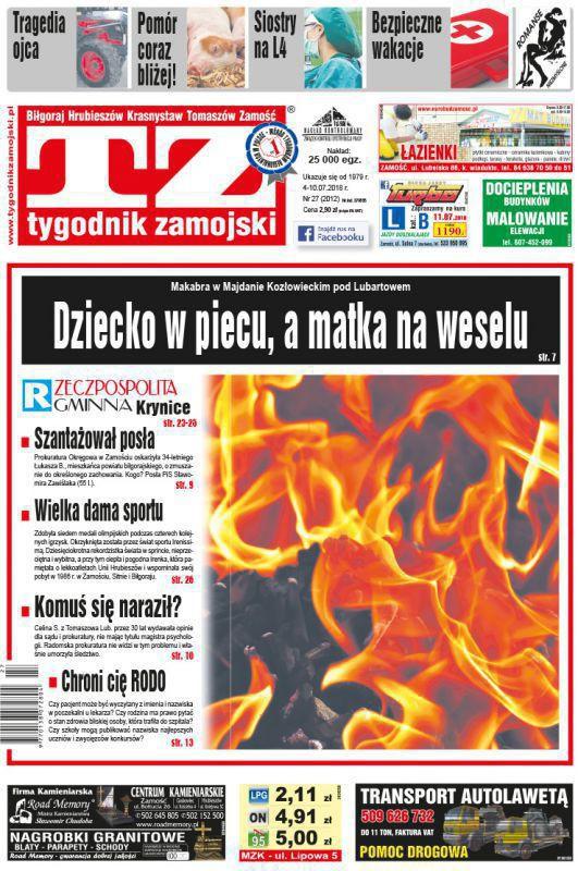 Tygodnik Zamojski -                     27/2018