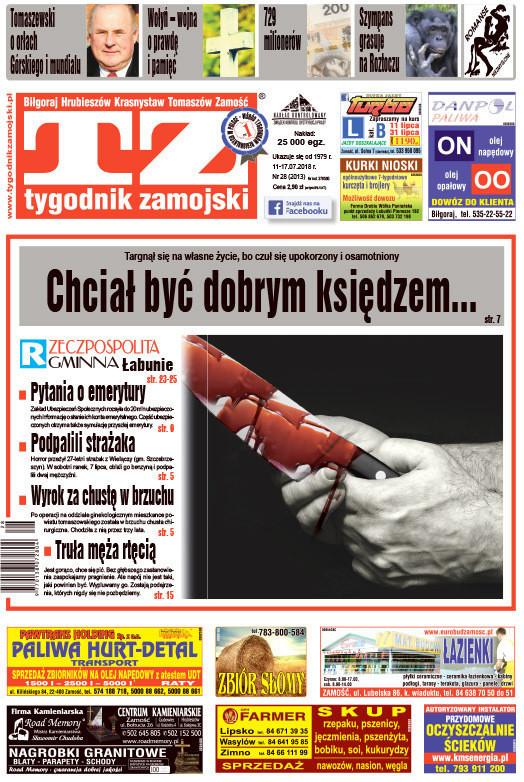Tygodnik Zamojski -                     28/2018