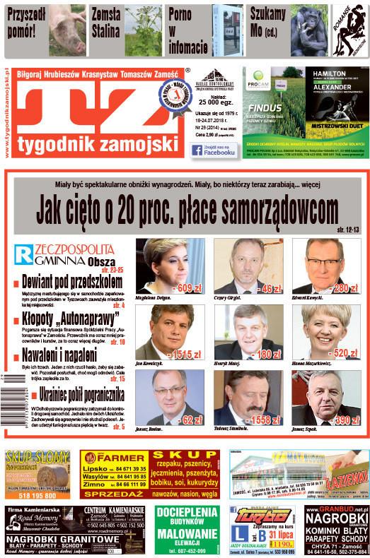 Tygodnik Zamojski -                     29/2018