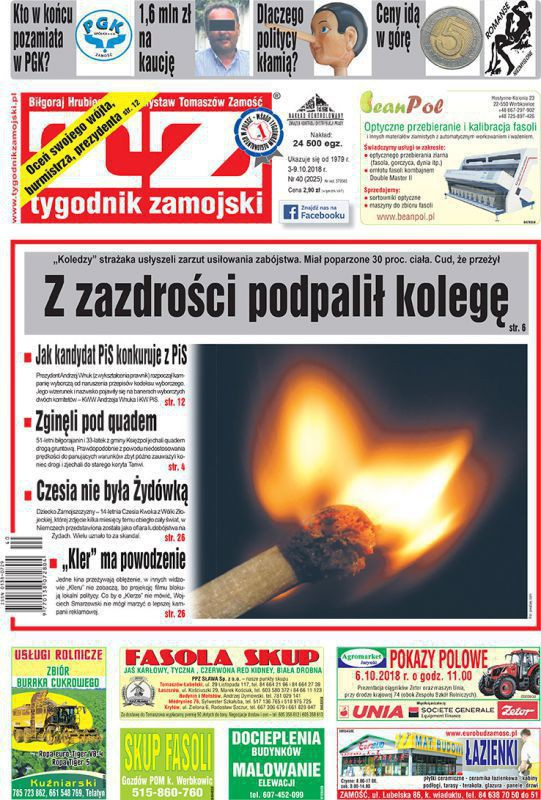 Tygodnik Zamojski -                     40/2018