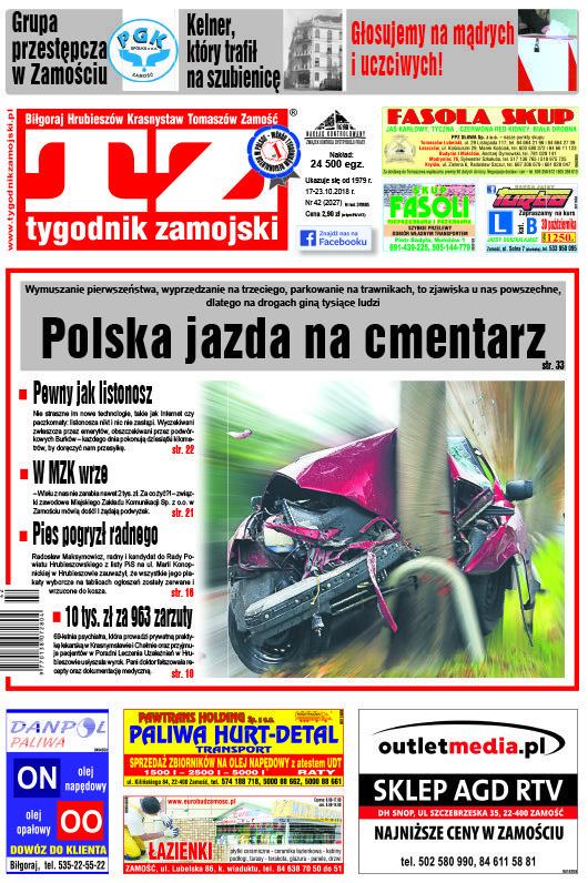 Tygodnik Zamojski -                     42/2018