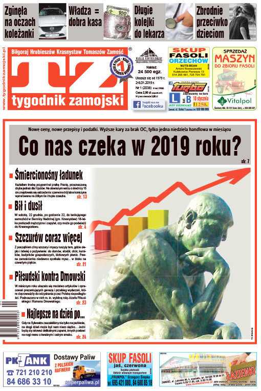 Tygodnik Zamojski -                     1/2019