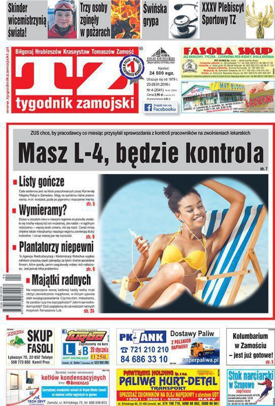 Tygodnik Zamojski -                     4/2019
