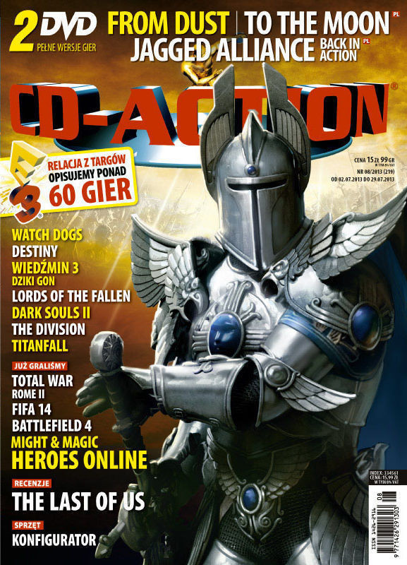 CD-Action -                     8/2013