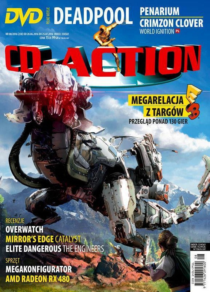 CD-Action -                     8/2016