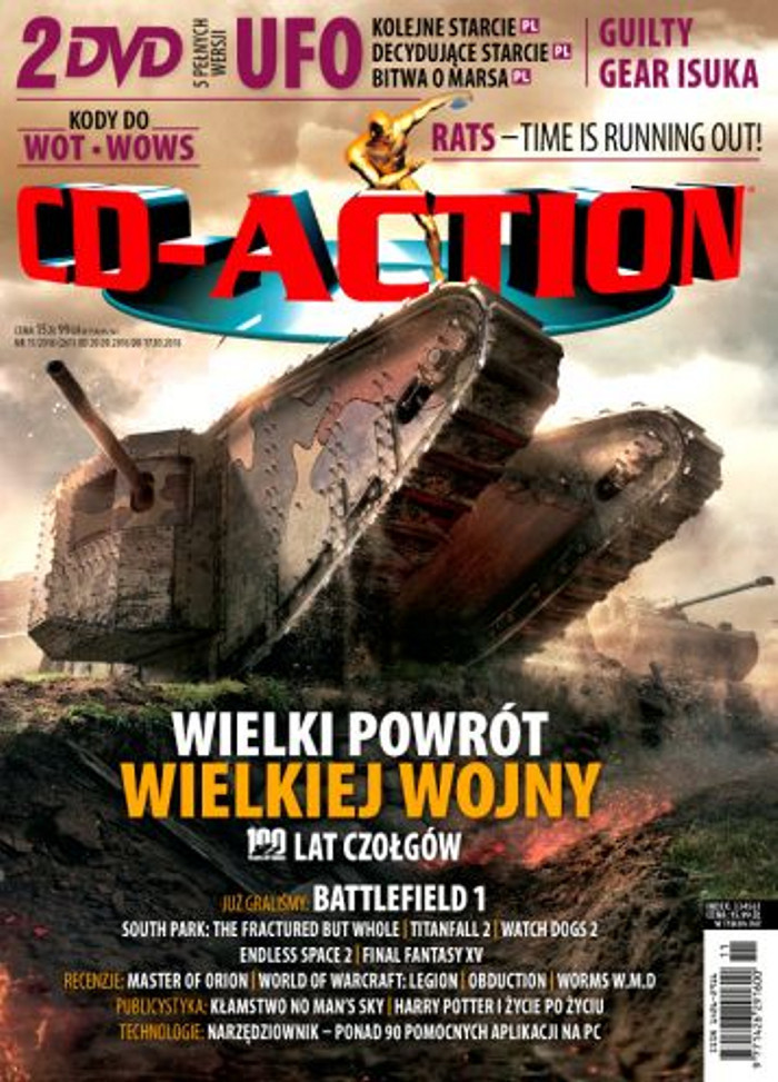 CD-Action -                     11/2016