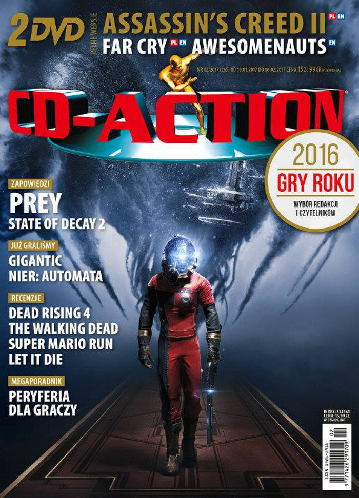 CD-Action -                     2/2017