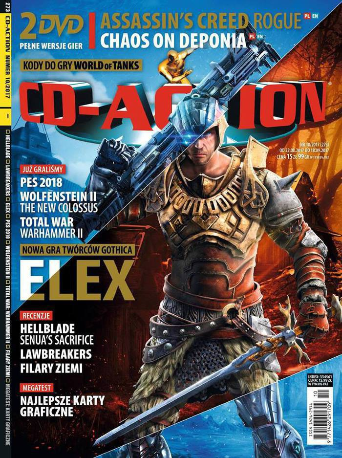 CD-Action -                     10/2017
