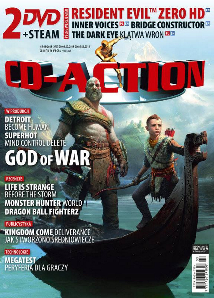 CD-Action -                     3/2018