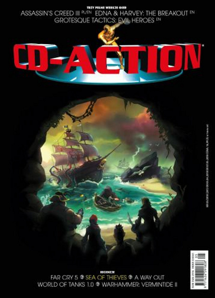 CD-Action -                     5/2018