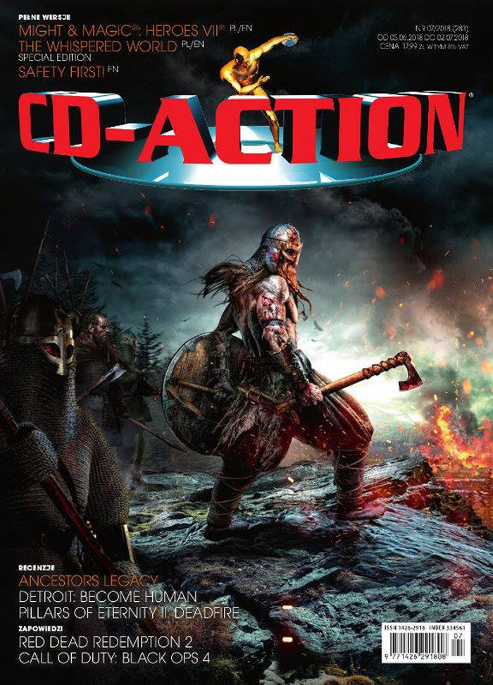 CD-Action -                     7/2018
