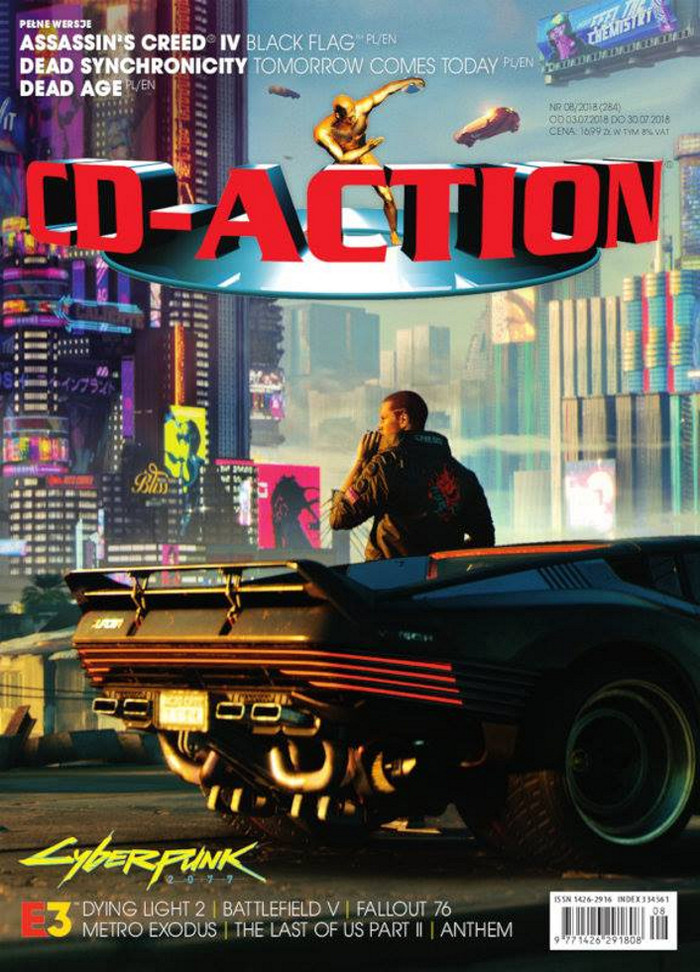 CD-Action -                     8/2018