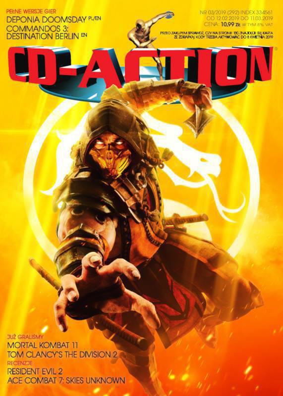 CD-Action -                     3/2019