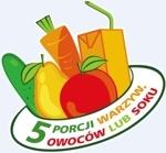 """""""5 porcji warzyw, owoców lub soku"""" - od września w szkołach"""