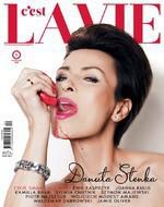 """Pierwszy numer """"C'est La vie"""" w sprzedaży, na okładce Danuta Stenka"""
