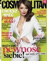 """Anna Przybylska na trzech okładkach """"Cosmopolitan"""" (foto)"""