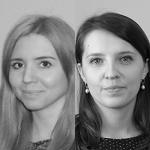 Beata Głuszcz i Irmina Brede