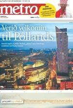 """Specjalne wydanie """"Metro"""" w Islandii"""
