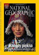 """Kanony piękna na czterech okładkach """"National Geographic Polska"""""""