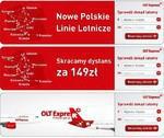 """""""Polska Górą!"""" w kampanii linii lotniczych OLT Express"""
