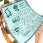 PaperTab: tablet niczym kartka papieru (wideo)