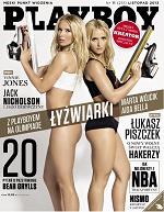 """""""Playboy"""" z łyżwiarkami na okładce"""
